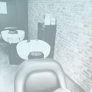 美容室の店内画像