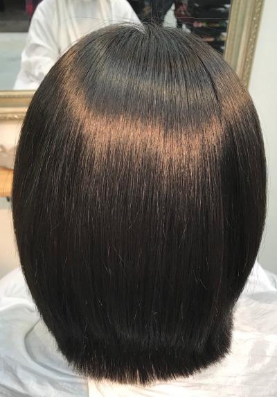 エンパニ縮毛矯正ショートスタイル