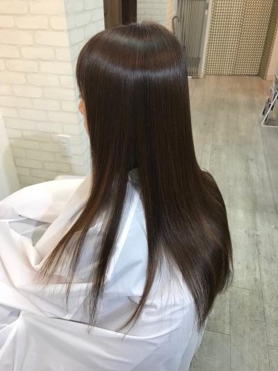 美髪矯正エンパニでサラサラ美髪