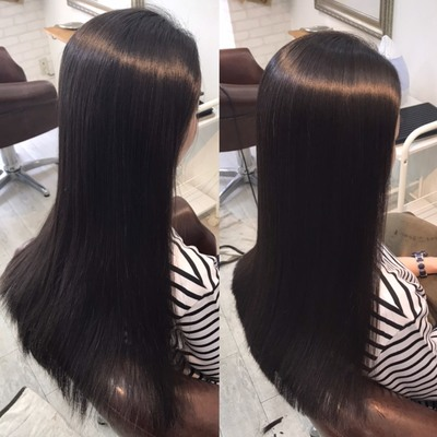 蒲田の縮毛矯正でサラツヤ美髪