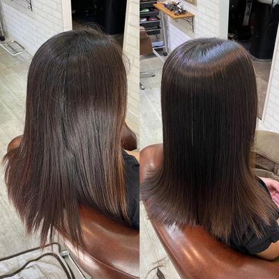 縮毛矯正最新技術美髪矯正エンパニ