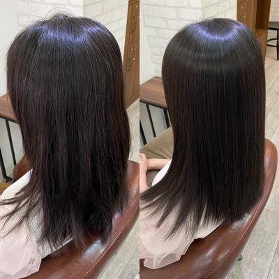 髪質改善美髪縮毛矯正エンパニ