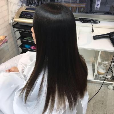 美髪矯正エンパニで髪質改善